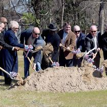 Groundbreaking Ceremony at Whiteville